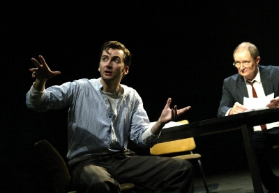 The Pillowman by Martin McDonagh with David Tennant,Jim Broadbent opens at the Cottesloe Theatre on 13/11/03 CREDIT Geraint Lewis