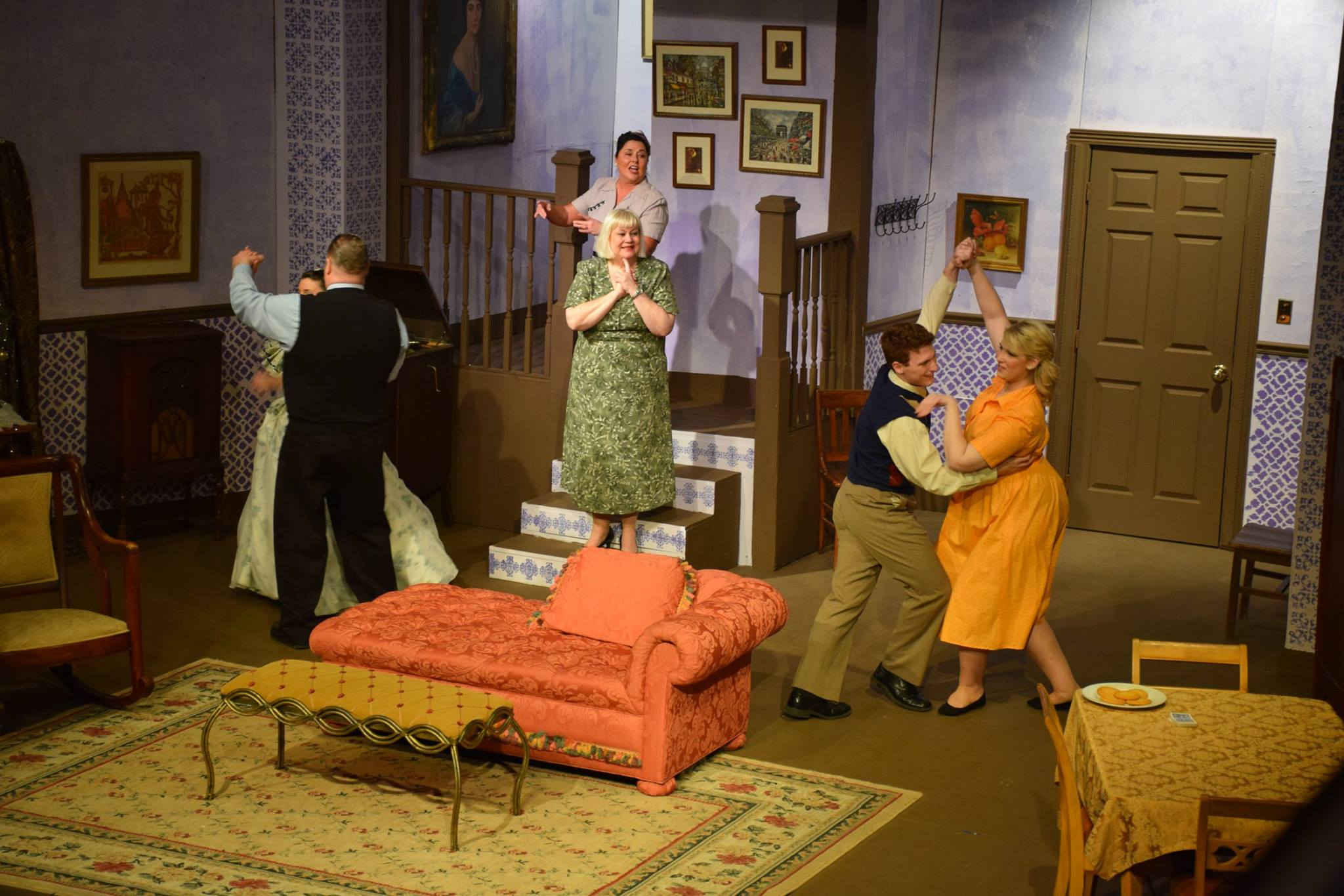 """WCT's production of """"The Last Night of Ballyhoo /Photo by Ben Blankley"""
