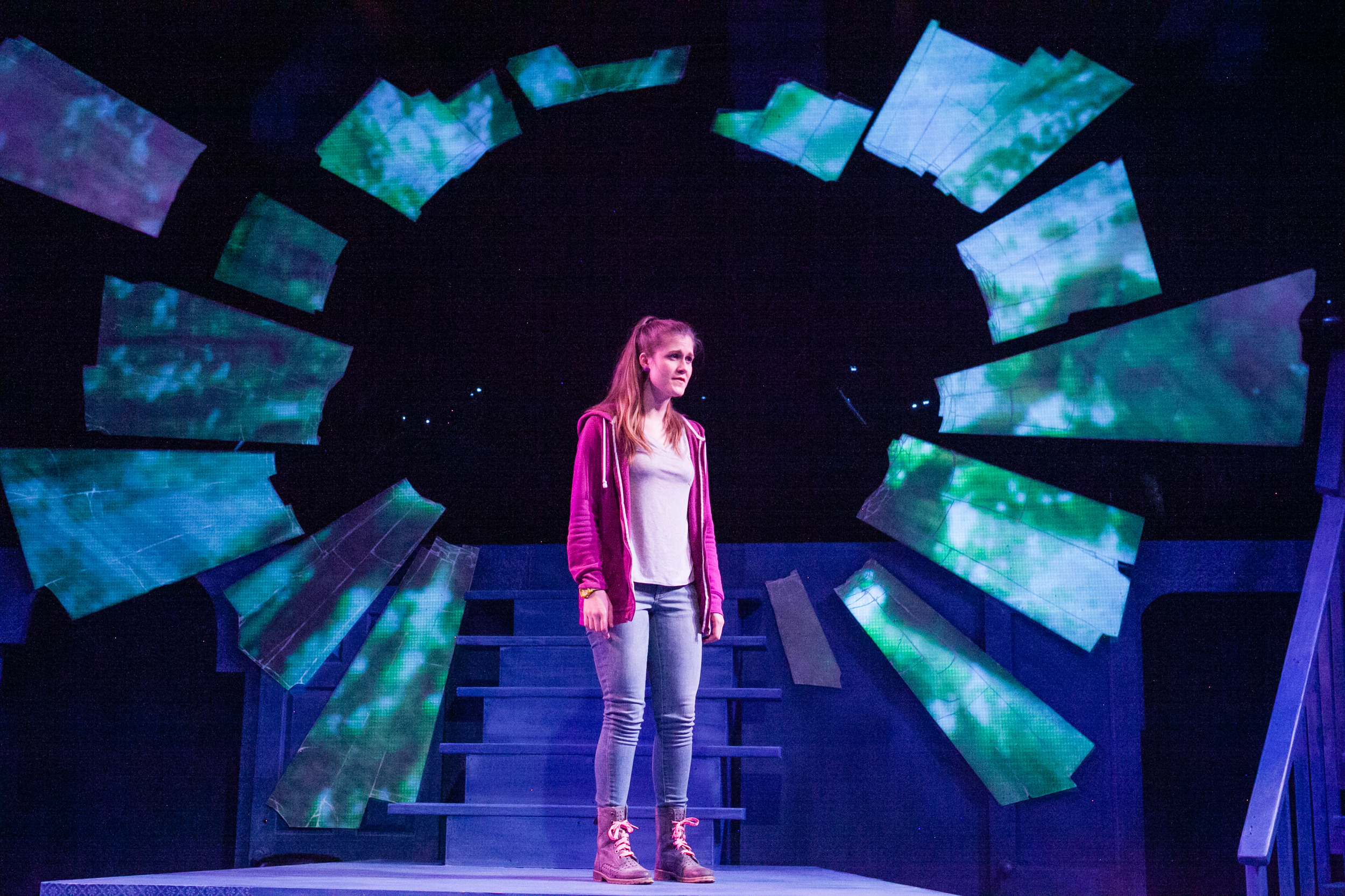 Caroline Dubberly in Keegan Theatre's Next to Normal (Photo: C. Stanley Photography)