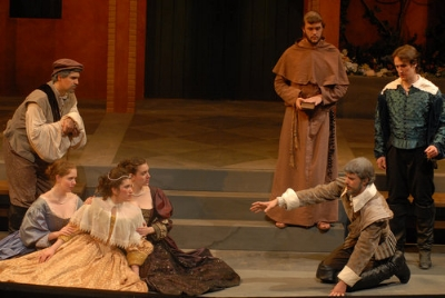 Ithaca College's production of Much Ado About Nothing Photo: Rachel Hogancamp