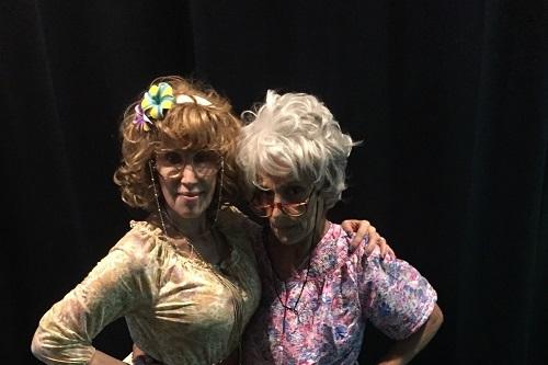 Pictured: Simone Lazer and Judy Bennett. Photographer: Michelle Best.