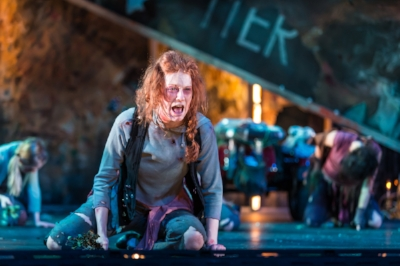 Leslie Lank as Chorus in After Troy / UC Irvine