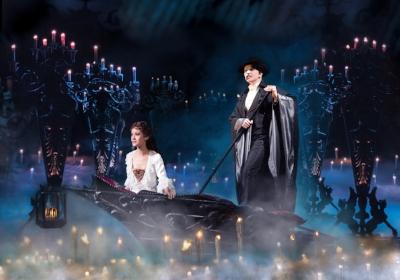 Ali Ewoldt as Christine & James Barbour as The Phantom (Jeremy Daniel)