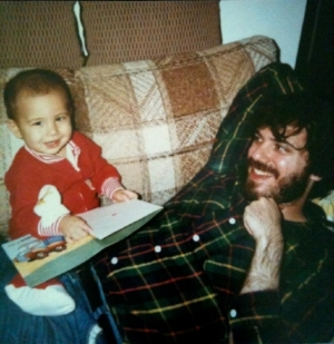 And a pic of me and my dad, Mark Blank