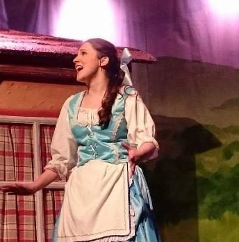 Me as Belle in 2016