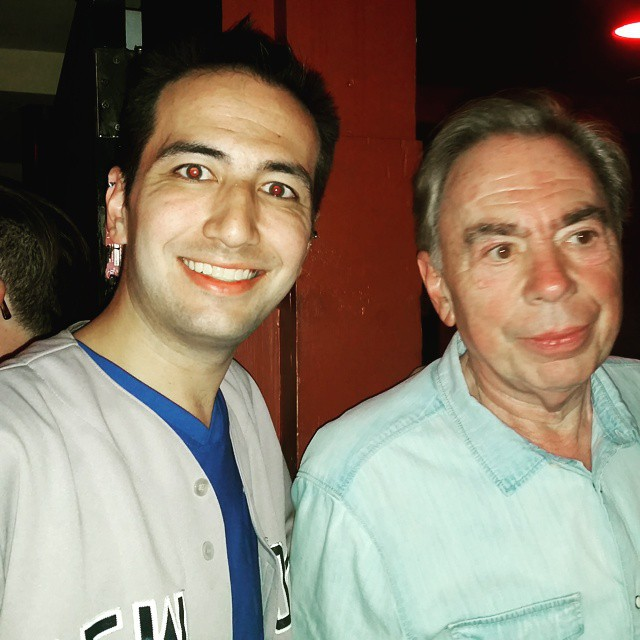 """""""Sir Andrew Lloyd Webber can't get away from me fast enough."""""""