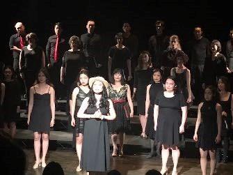 Ya Han Chang and the NAAP Choir perform  Ribbons Down My Back