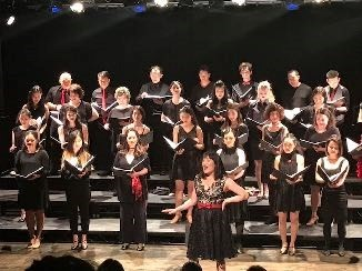 Karin Kawamoto and the NAAP Choir perform  It's Today