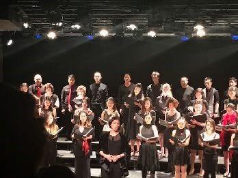 Mandarin Wu and the NAAP Choir perform  Moon Song