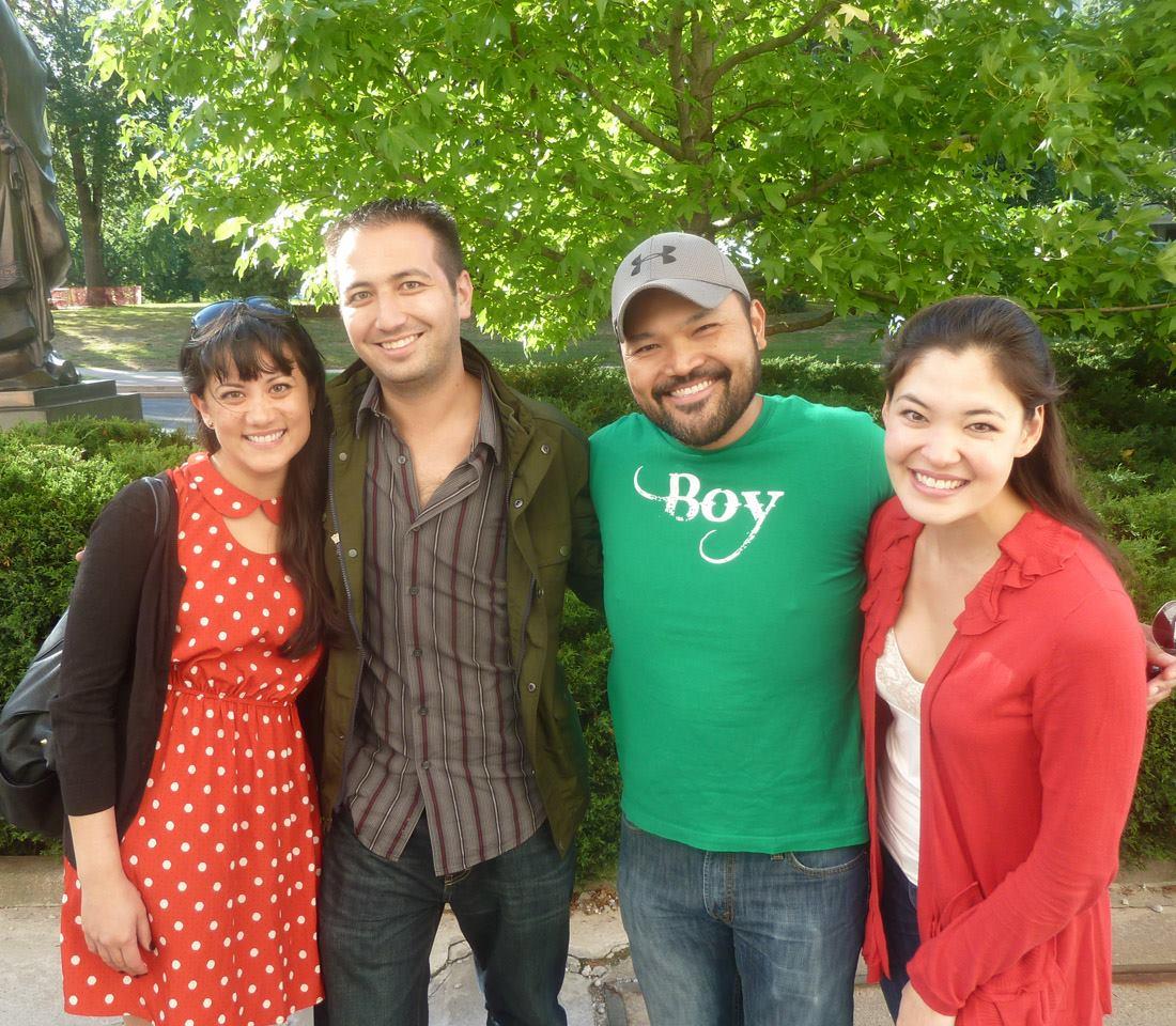 Stage-dooring  Miss Saigon  with Diane Phelan and Manna Nichols