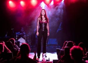 Lauren Zakrin in CRUEL INTENTIONS (photo by Jenny Anderson)