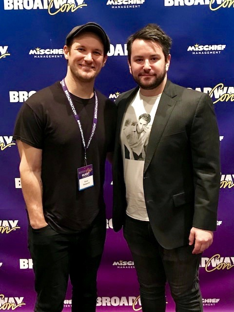 Drew Gasaparini and Alex Brightman