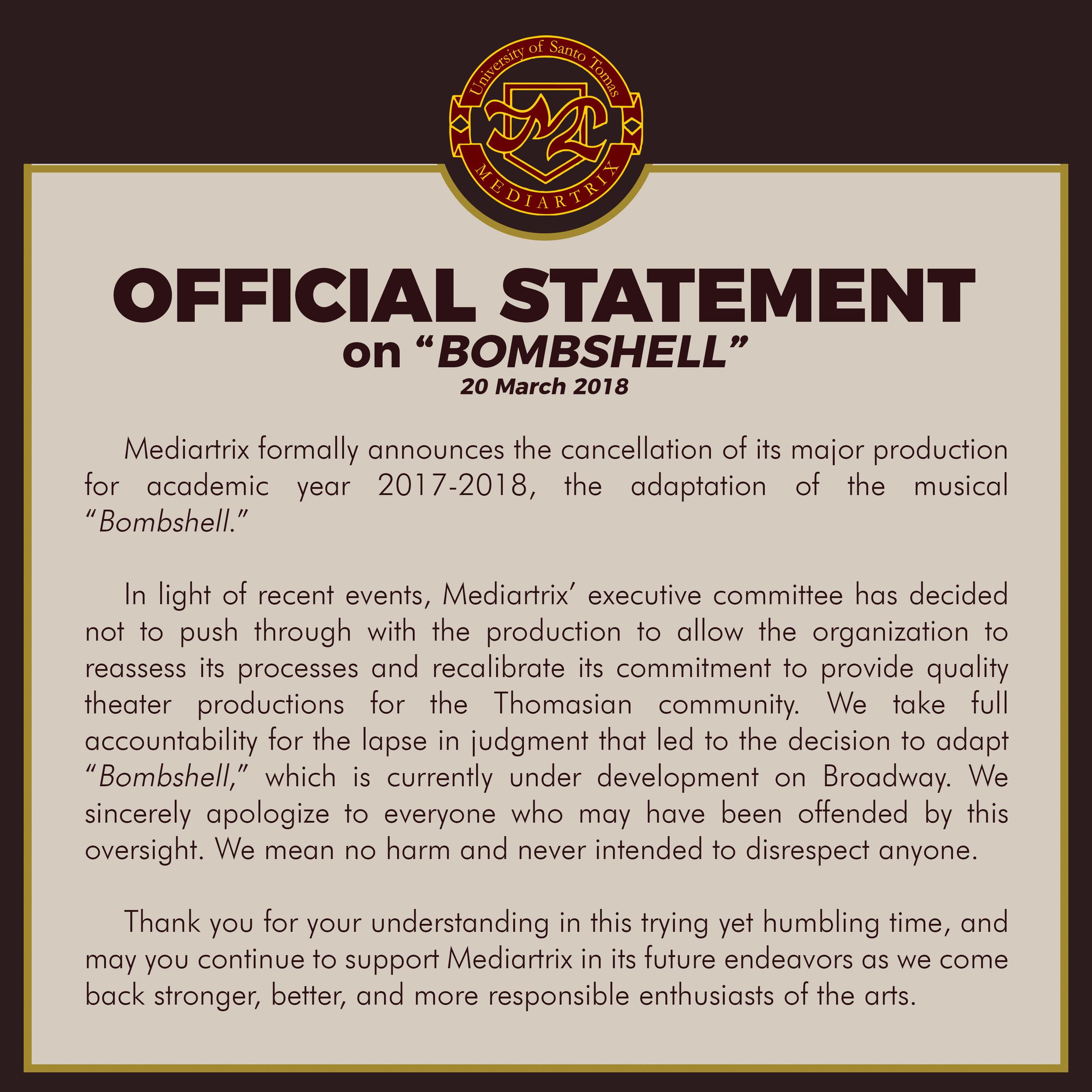 BOMBSHELLOFFICIALSTATEMENT03202018.jpg