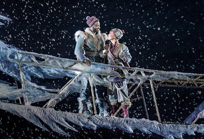 """Jelani Alladin and Patti Murin in """"Frozen"""""""