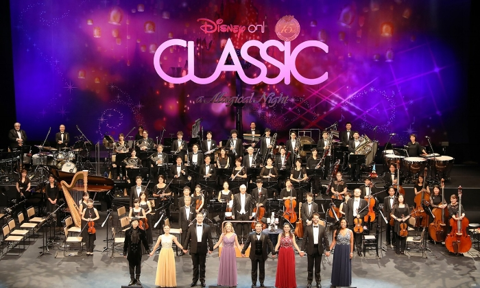 """Mara Jill Herman(3rd from Right) in the Japanese Tour of """"Disney On Classic"""""""