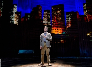 "Bobby Steggert as Will Bloom performing ""Stranger"" in the Broadway musical, 'Big Fish'"