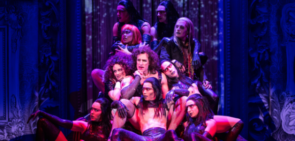 "The cast of ""The Rocky Horror Show"" at The Stratford Festival. Photo by Cylla von Tiedemann."