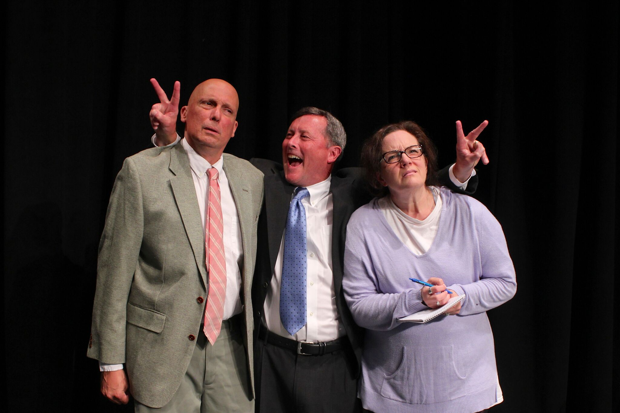 """Eastbound Theatre's production of """"November)"""