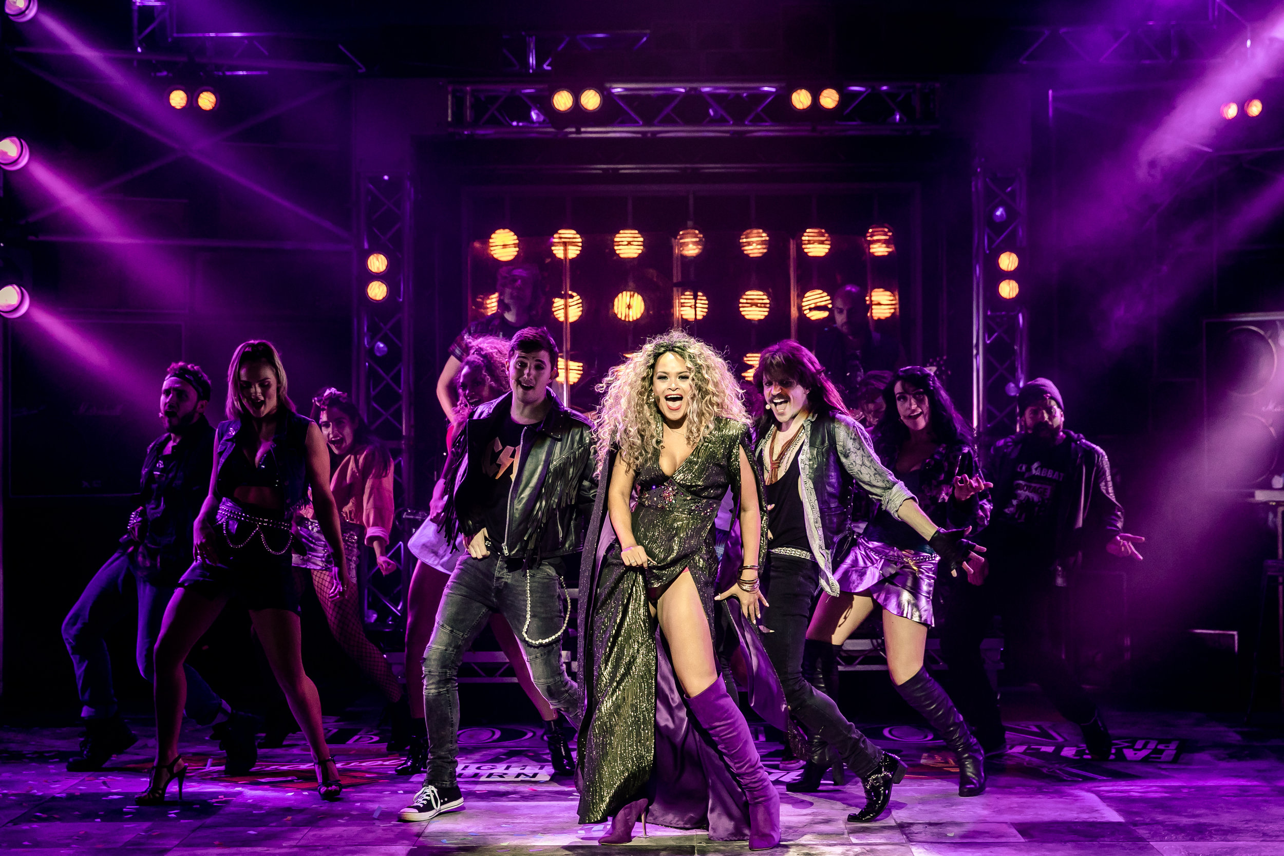 15. ROCK OF AGES. Zoe Birkett 'Justice' and The Company. Photo Richard Davenport.jpg