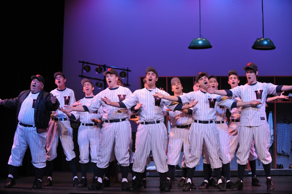 DAMN YANKEES  at Foothill Music Theatre  Photo by David Allen