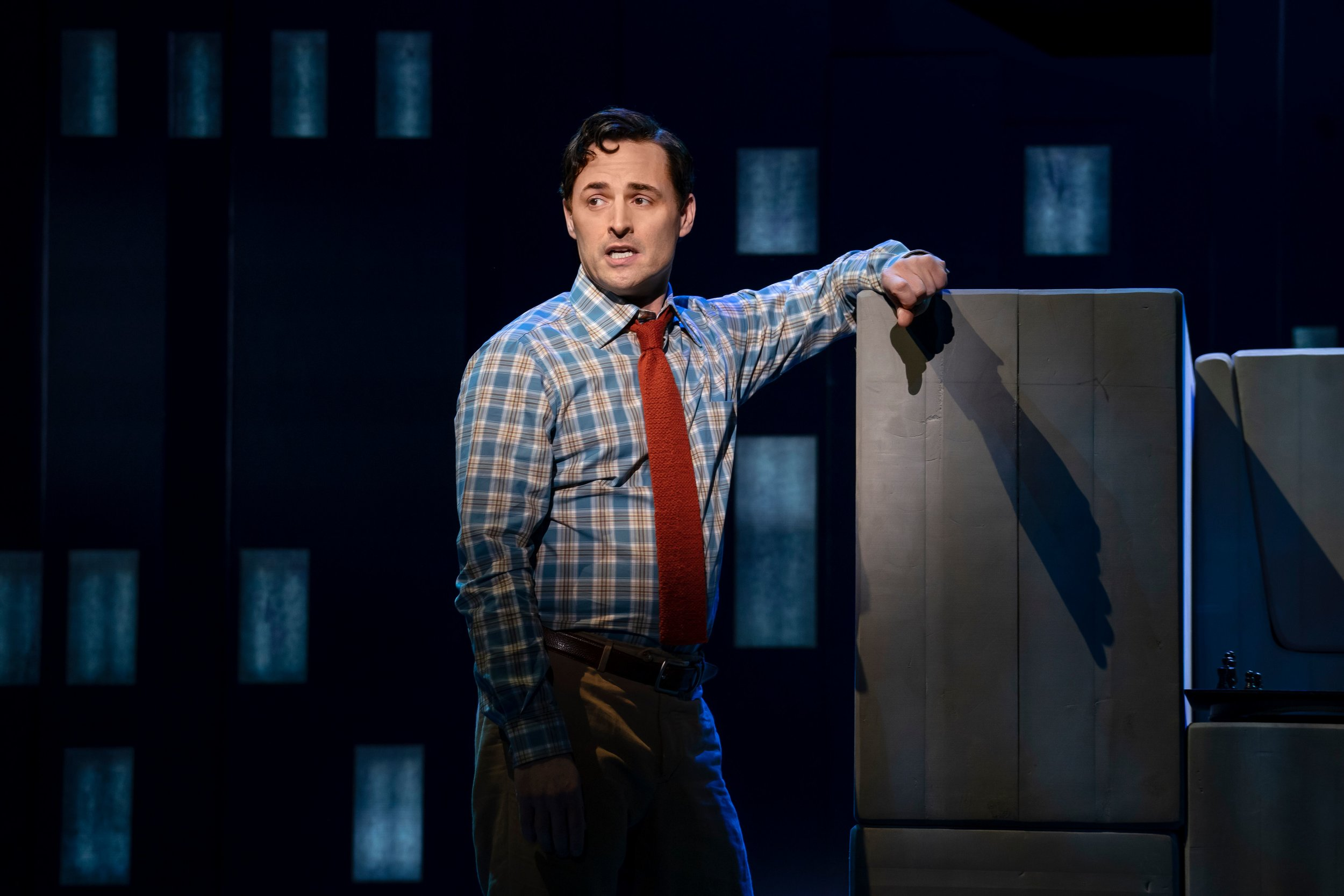 Max von Essen in  Falsettos  (photo by Joan Marcus)