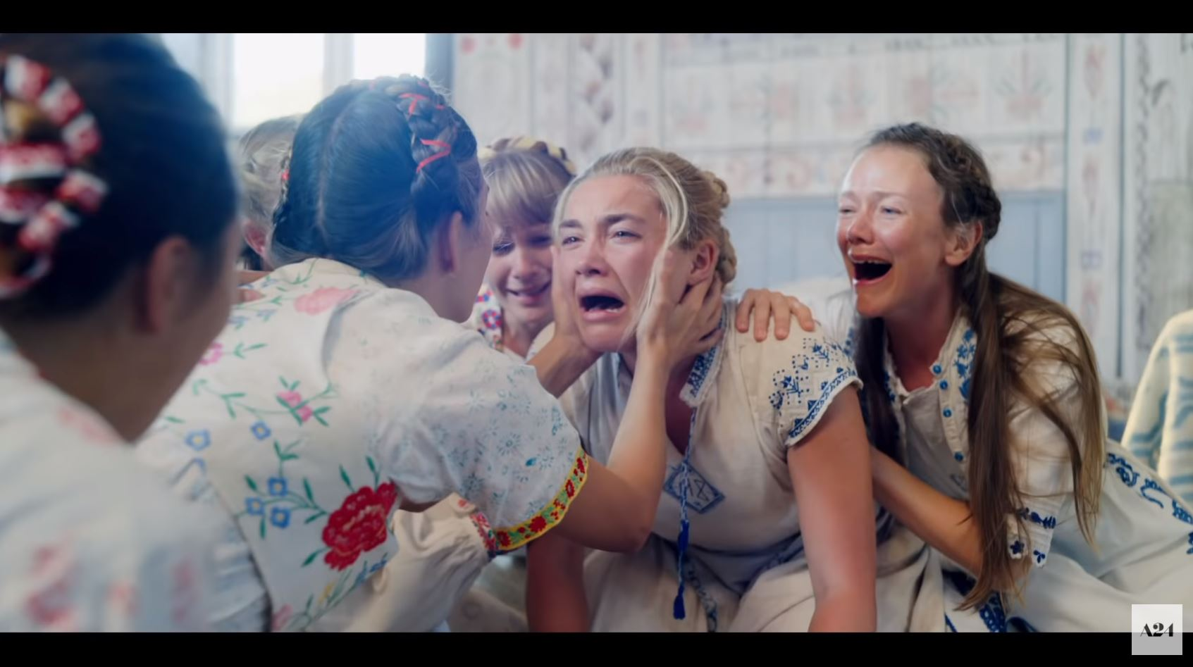 Image result for midsommar dani crying