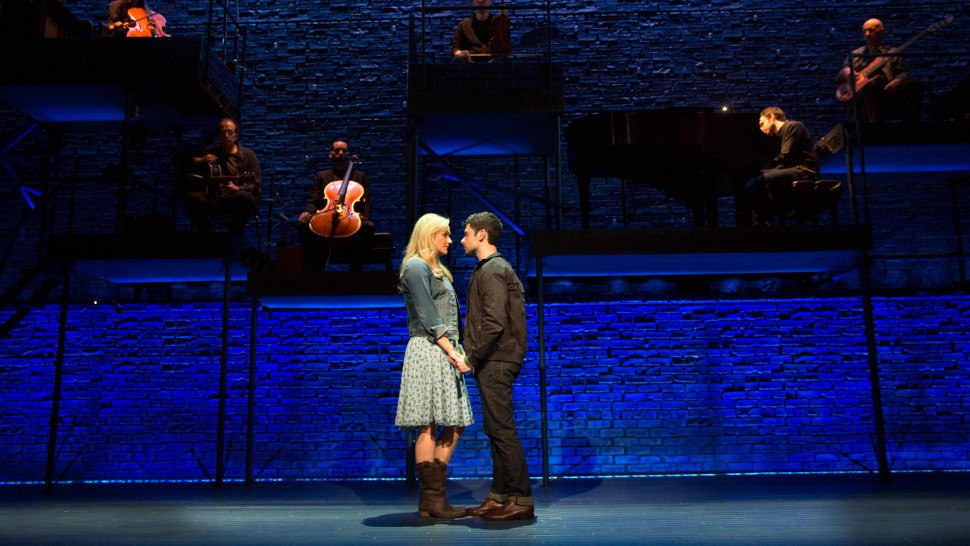 Betsy Wolfe and Adam Kantor in  The Last Five Years  Joan Marcus)