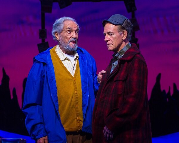 Hal Linden and Mark Jacoby star in the La Mirada Theatre for the Performing Arts/McCoy Rigby Entertainment West Coast Premiere production of GRUMPY OLD MEN: THE MUSICAL, directed by Matt Lenz and now playing at La Mirada Theatre for the Performing Arts.