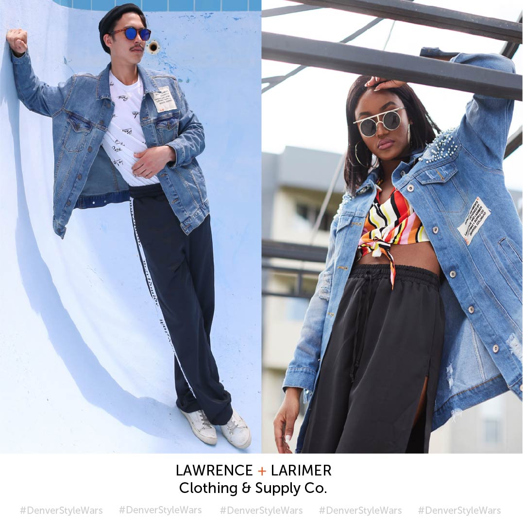 DON'T BE AFRAID. TAKE THE CHALLENGE. WE DARE YOU.  REQUIREMENTS:  1. Follow @LawrenceandLarimer on instagram.  2. By 11:59PM on July 7, upload up to three photos of your best style to instagram and tag @lawrenceandlarimer using #DenverStyleWars  3. On July 9, check @LawrenceandLarimer to see if you're one of three (3) who made the cut.  4. July 13, Go head-to-head to win $200 and claim the title of Denver's Best Stylist.