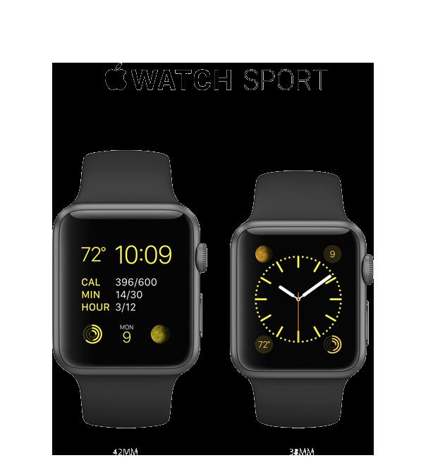 Apple Watch Sport 42mm & 38mm