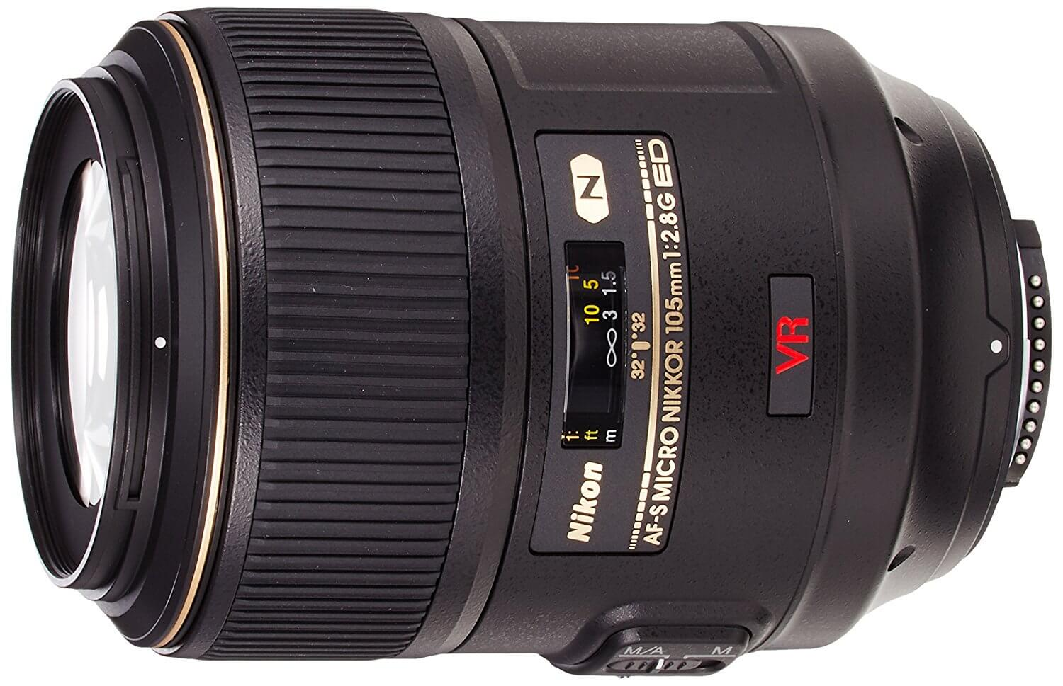 Nikon Nikkor 105mm f2.8G Macro - Nikon Shooter this is the lens for you.