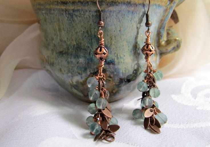 Handmade Boho Earrings, Handmade Boho Jewelry