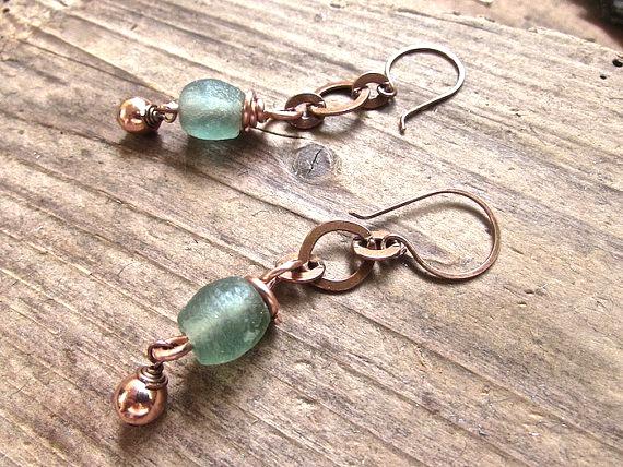 Handmade rustic jewelry, Beach boho jewelry, Handmade Boho Jewelry