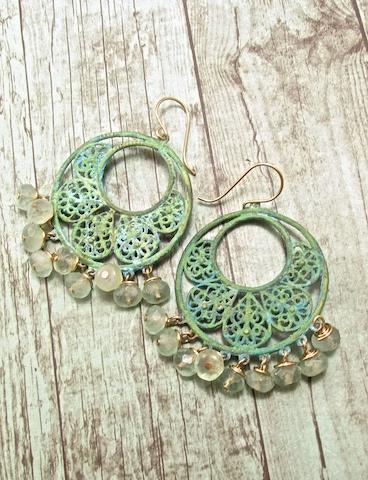 Handmade Boho Earrings, Handmade Bohemian Earrings, Handmade Boho Jewelry