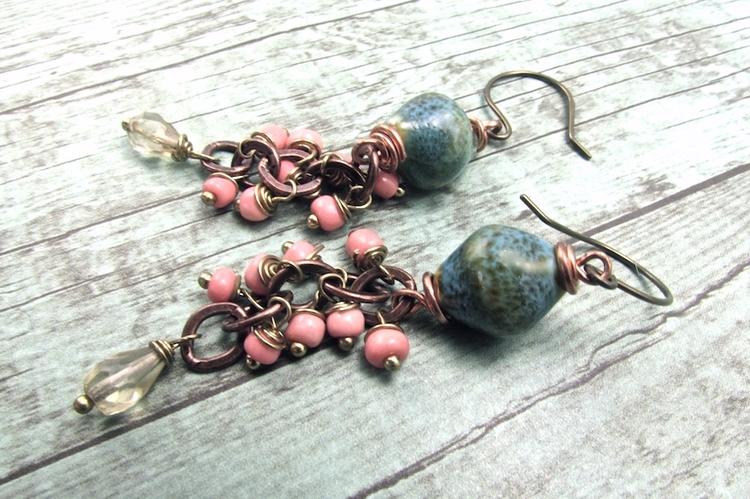 Handmade Boho Jewelry,  Handmade Bohemian Jewelry