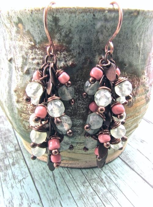 Handmade Boho Earrings, Handmade Bohemian Earrings