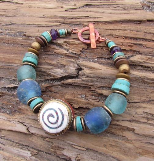 Sacred Spiral Bracelet