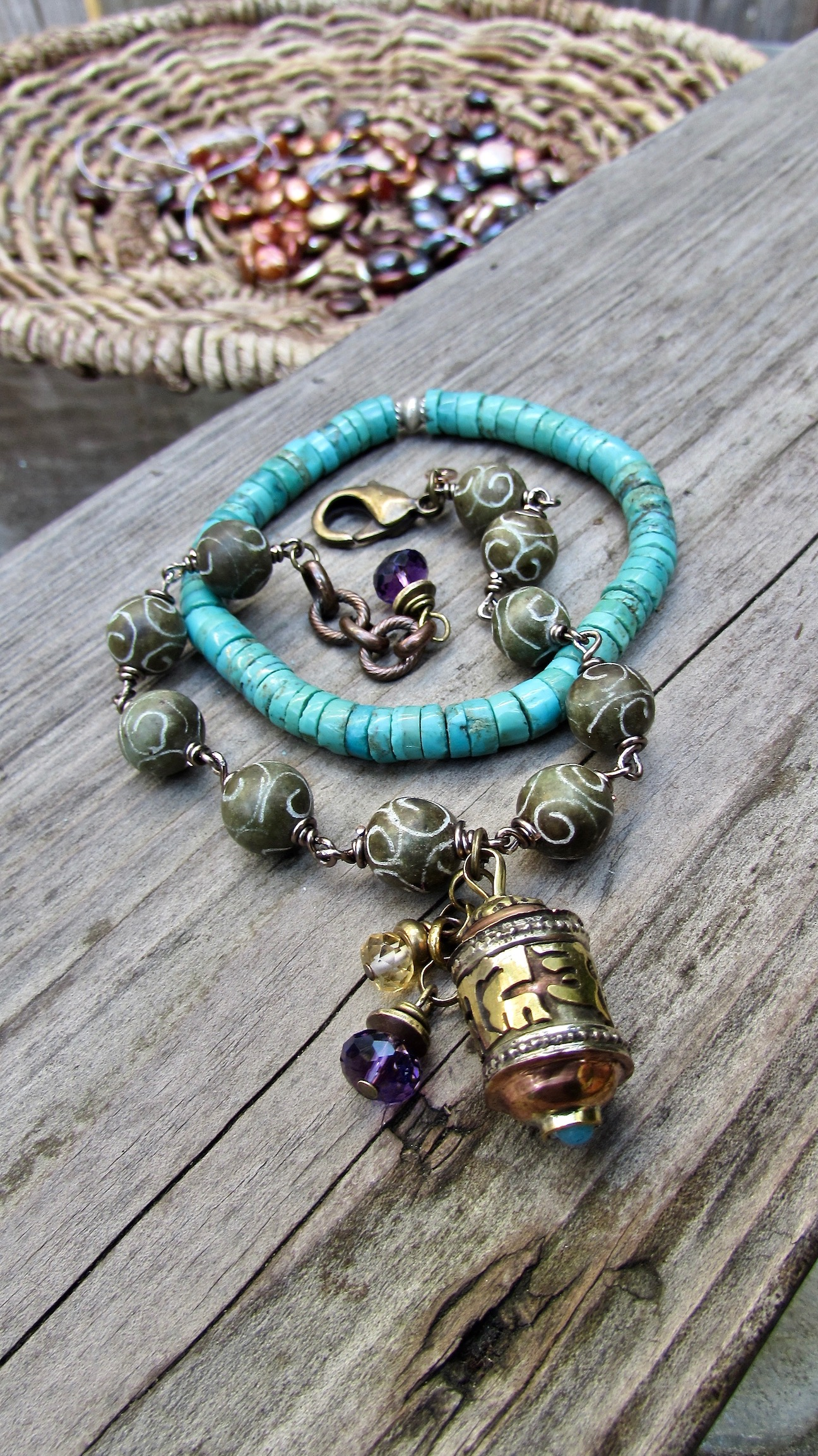 Beach Inspired Yoga and Meditation Jewelry