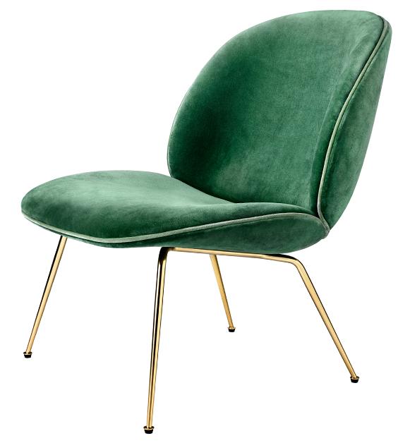 Gubi's beetle lounge chair