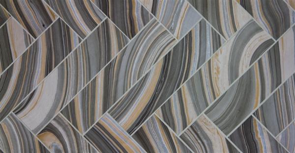 malachite esker 3x12 tile from Mission Stone Tile