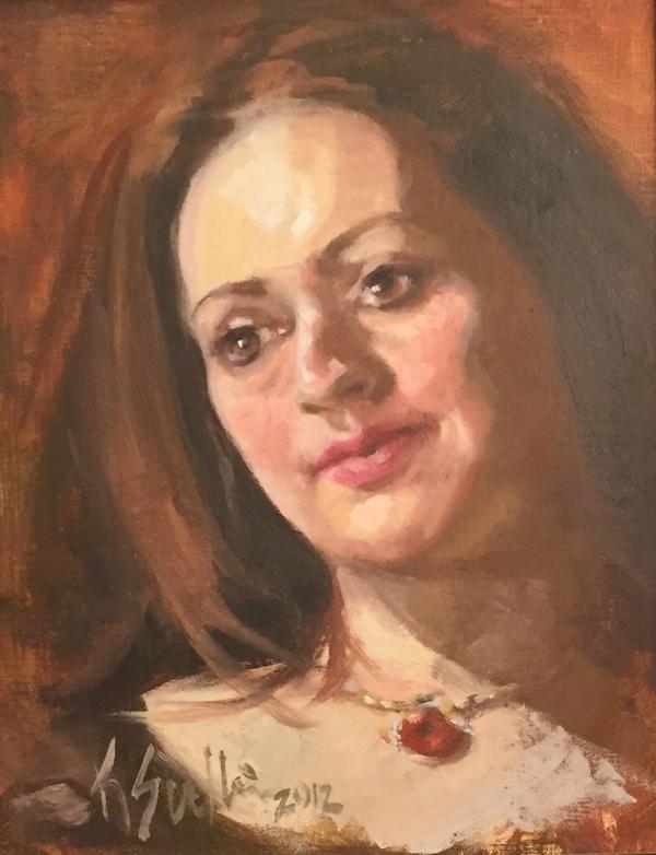 Oil on Canvas | Kelly Sullivan |  www.thebabblingbrush.com