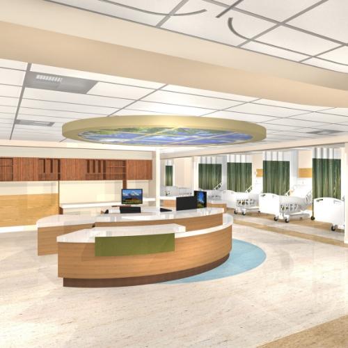 MONTCLAIR HOSPITAL   EMERGENCY ROOM REMODEL