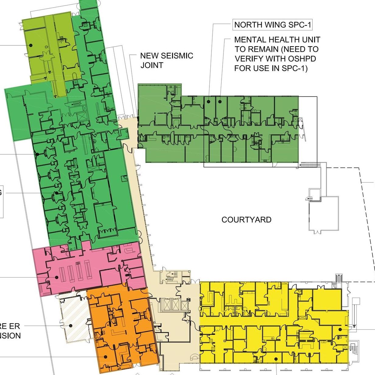 ENCINO HOSPITAL   SEISMIC UPGRADES & RENOVATION