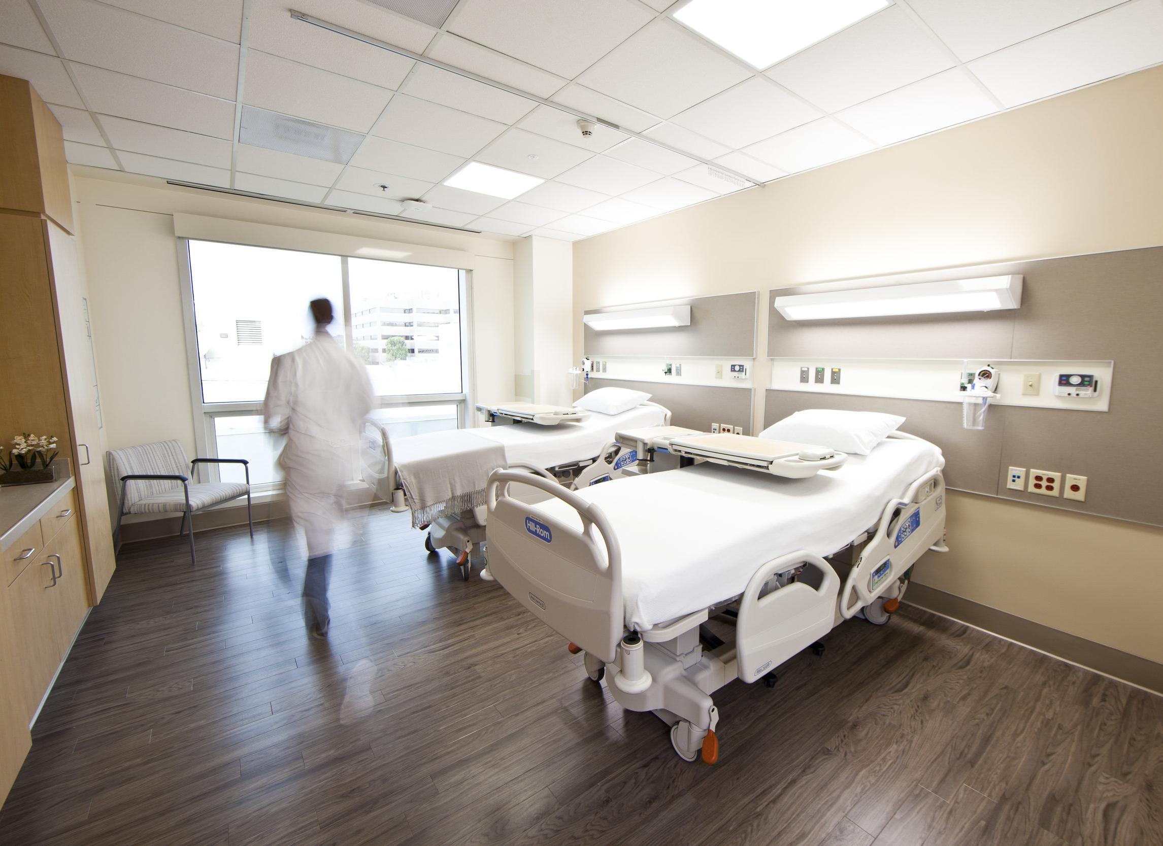Methodist Hospital Rehabiliation Unit Patient Room