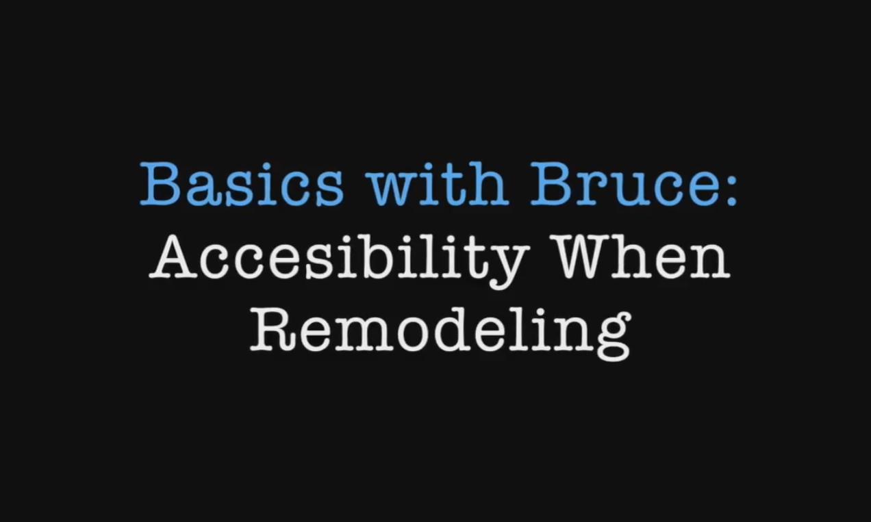 Basics with Bruce