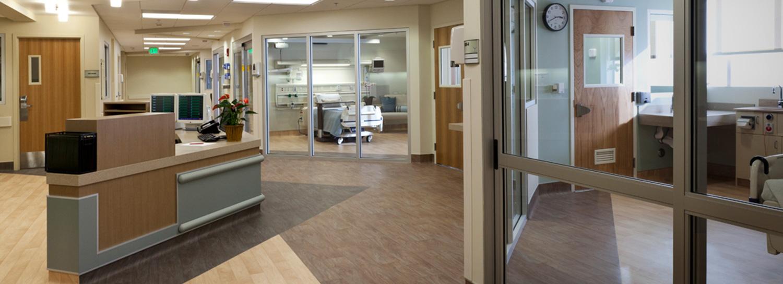 Promoting healing through  patient-focused design