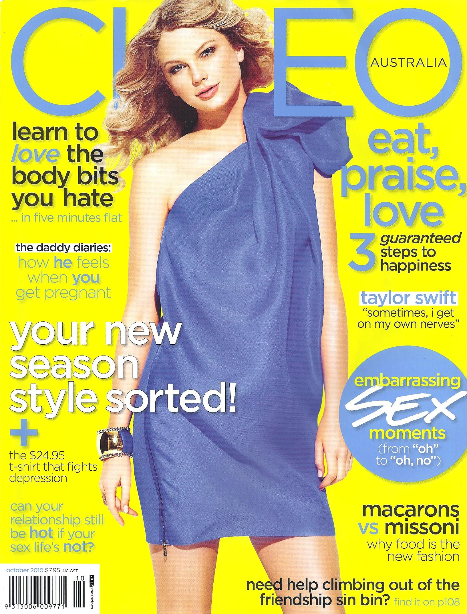 CLEO Magazine, October 2010