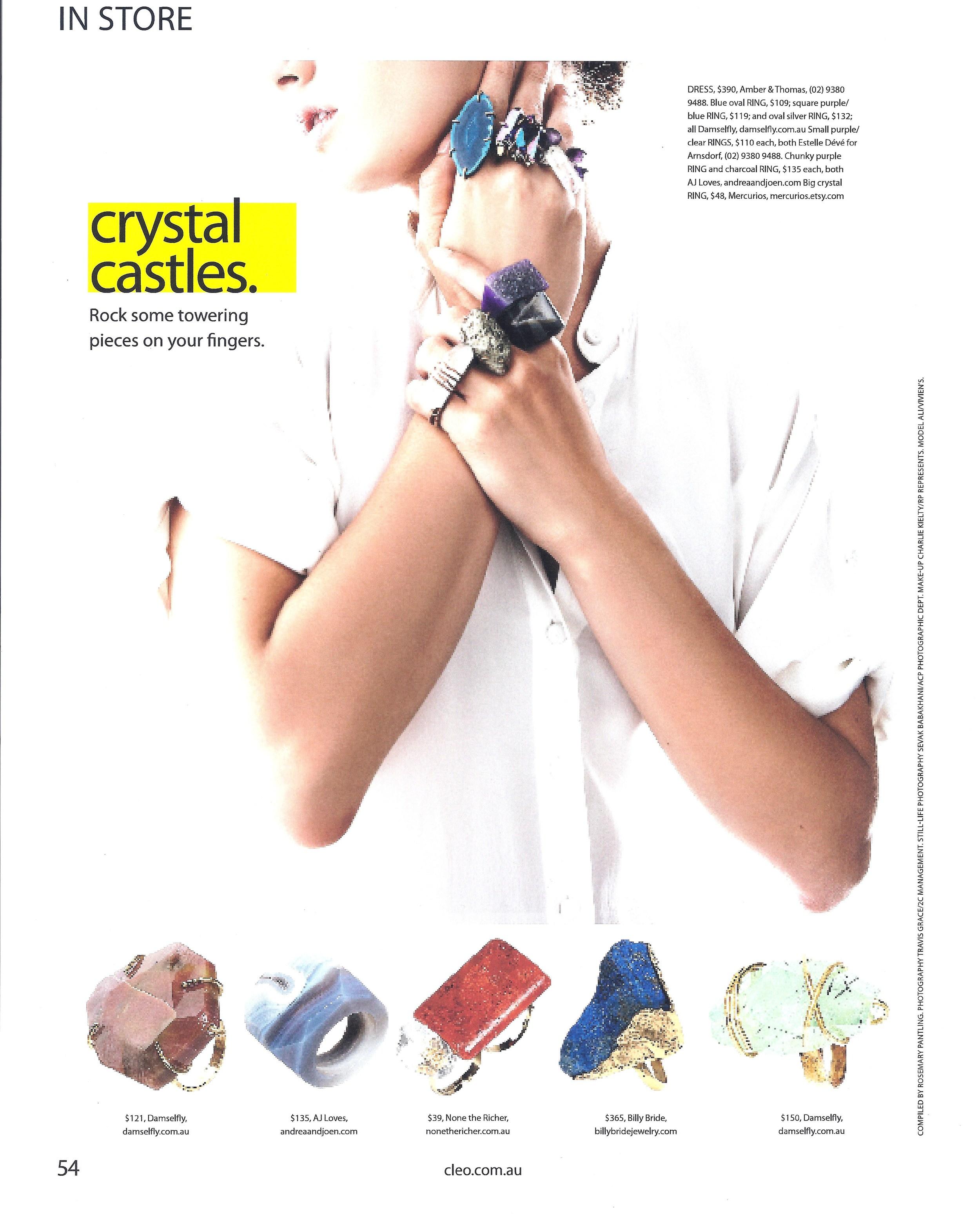 CLEO Magazine, November 2010
