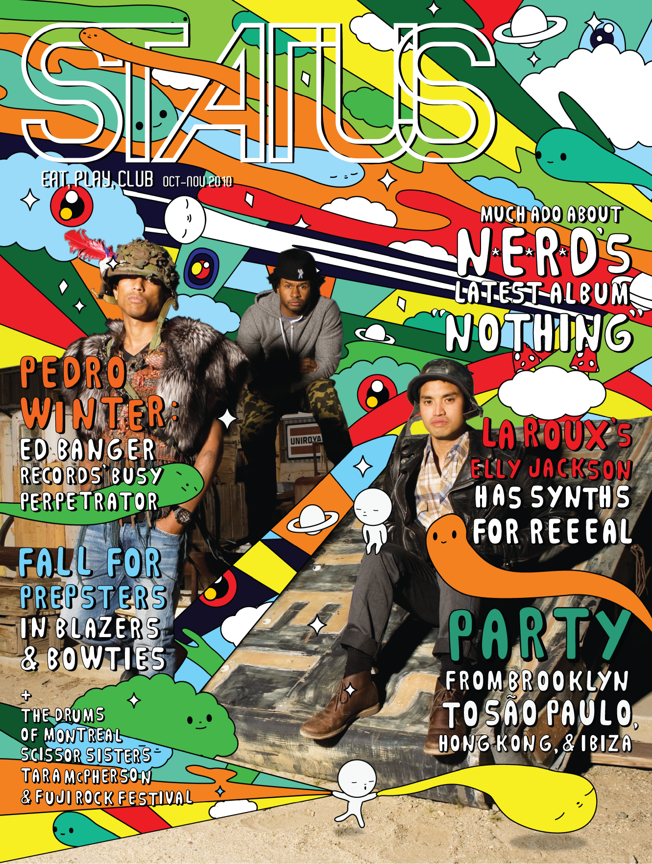 STATUS Magazine, October - November 2010