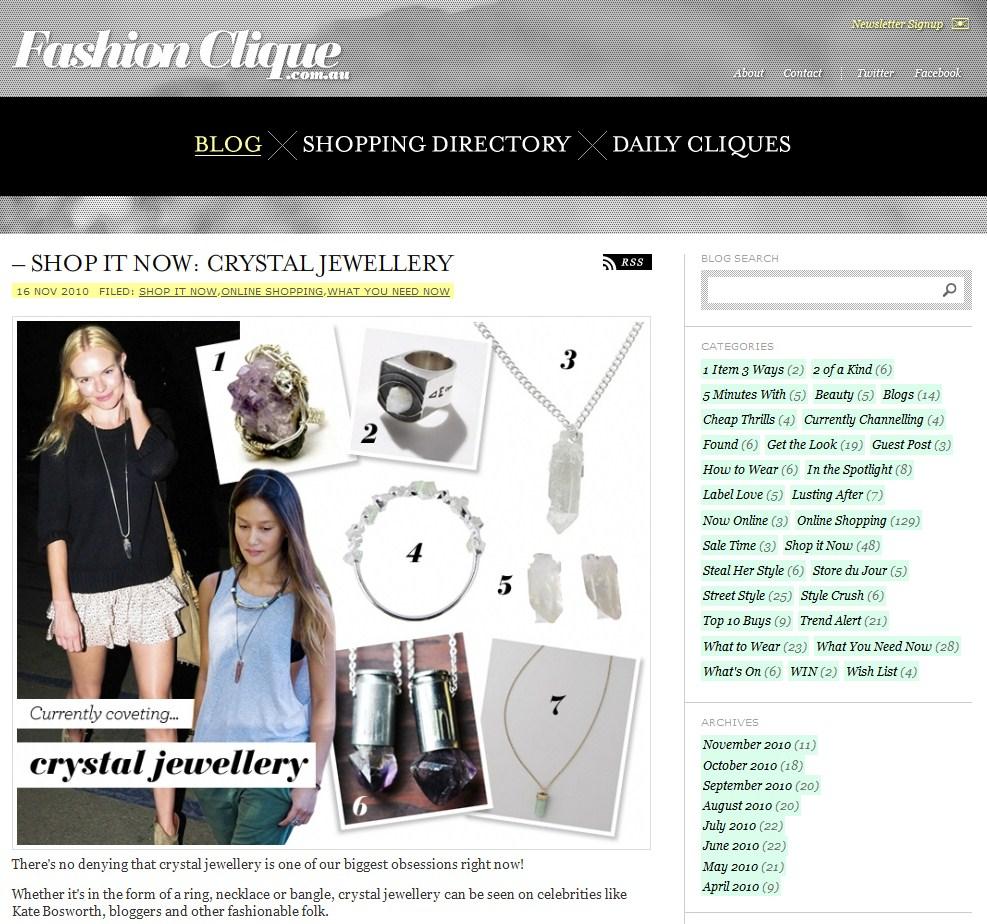 Fashion Clique / November 2010